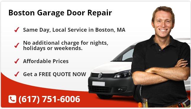 Boston Garage Door Repair